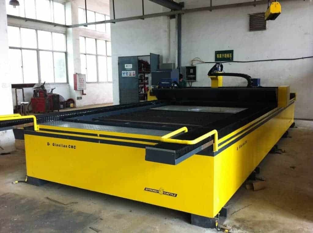 High definition table type metal sheet cnc plasma cutter cutting machine for true hole cutting