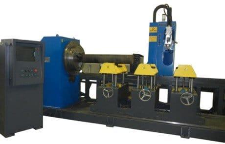 CNC- خمسة محاور-أربعة-وصلات-تقاطع-آلة القطع