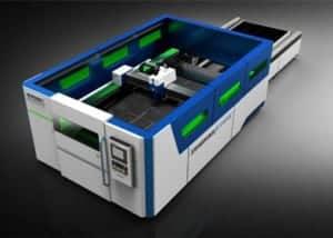 New type fiber laser cutting machine